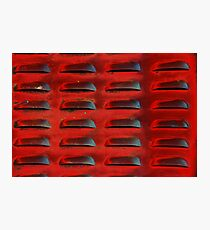 Red Hot Venting Photographic Print