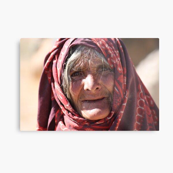 Old Woman (afghanistan) Metal Print