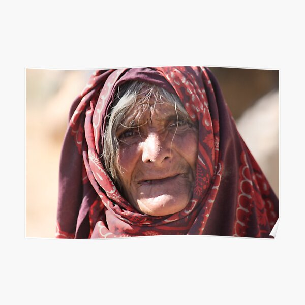 Old Woman (afghanistan) Poster