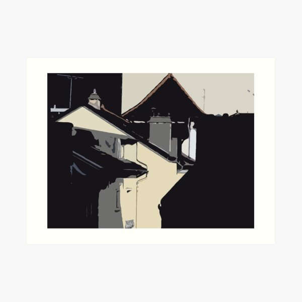 Rough Roof 1 Art Print