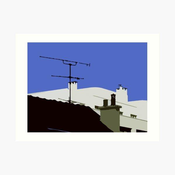 Rough Roof 2 Art Print