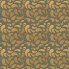 Gold Paisley by -Patternation-