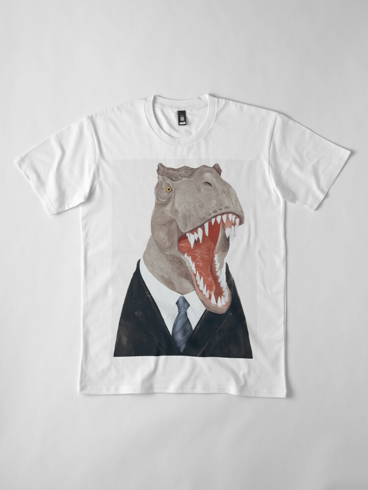 Alternative Ansicht von T-Rex Premium T-Shirt