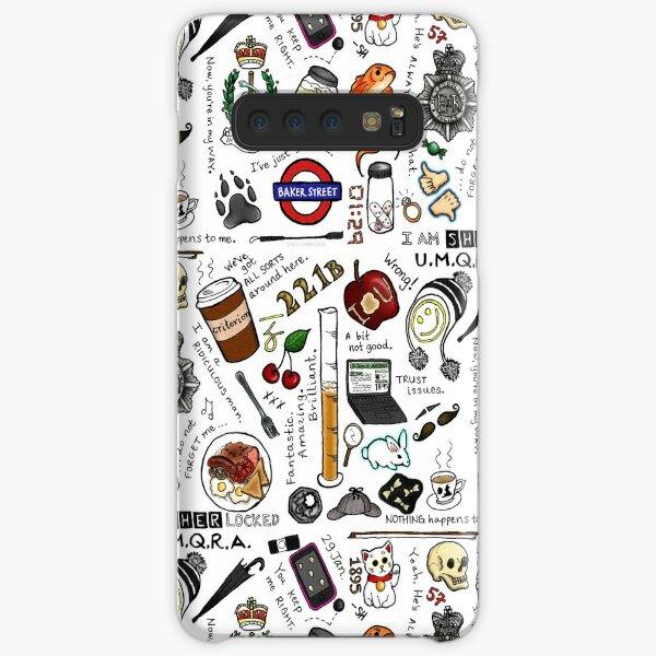 Sherlock Collage (color) Samsung Galaxy Snap Case