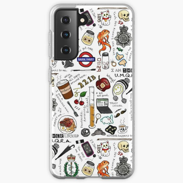 Sherlock Collage (color) Samsung Galaxy Soft Case