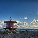 Sunrise South Beach, Miami by Robert Baker