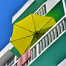 Umbrella Miami by Robert Baker
