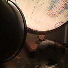 Lighted Globe by Robert Baker