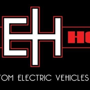 Electric Horsemen - Custom Electric Bikes black sticker by carvnmarvn