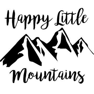 Glückliche kleine Berge von fandemonium