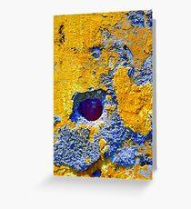 Abstractions--Tlacotalpan, Veracruz Greeting Card