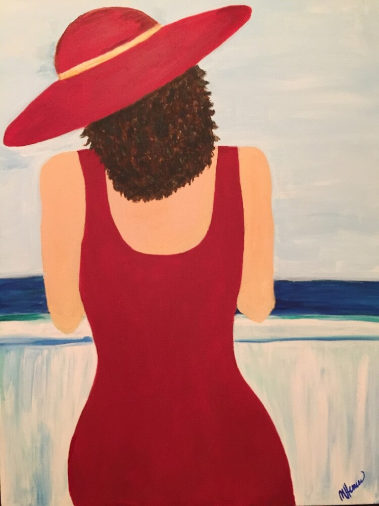 Lady in Red by MariaHerrera