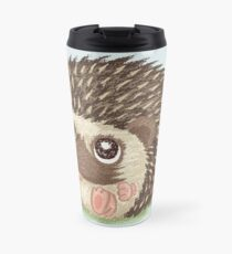 Round hedgehog Travel Mug