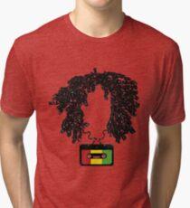 Bob and Cassette Weave Tri-blend T-Shirt