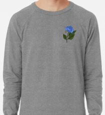 Sudadera ligera Rosa azul (picos gemelos)