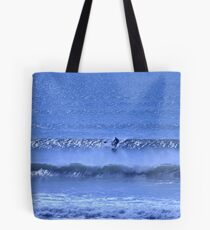 Blue Isolation Tote Bag