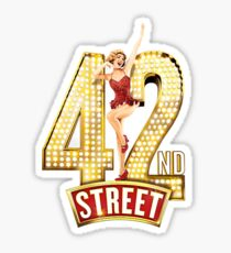 42nd Street Sticker