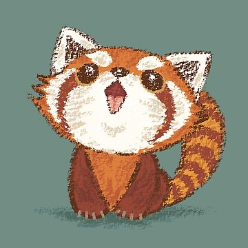 Red panda happy by sanogawa