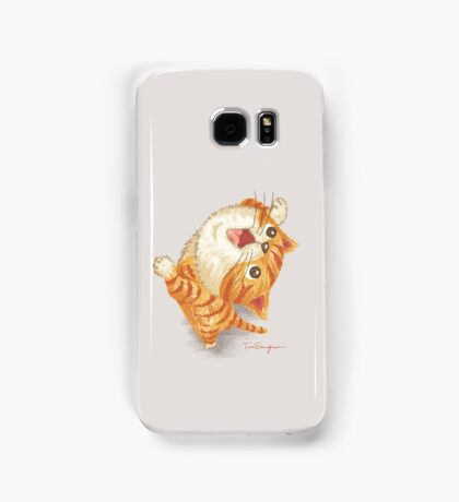 Tabby to look up at Samsung Galaxy Case/Skin