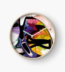 Beauty In a Vase Clock