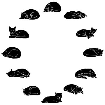 Cat o' Clock - Inverted by CCCDesign