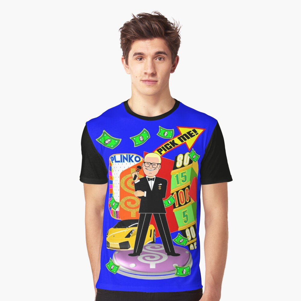 TV Game Show - TPIR (The Price Is) Graphic T-Shirt