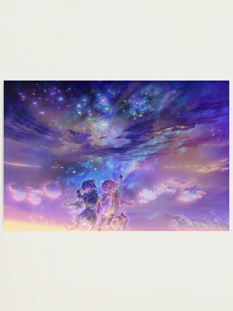 Alternate view of Yuru Camp | Rin + Nadeshiko Photographic Print