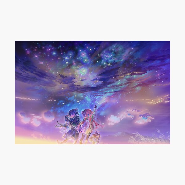 Yuru Camp | Rin + Nadeshiko Photographic Print