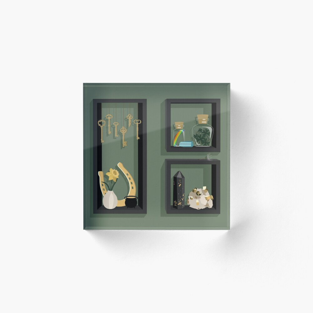 March Collection Acrylic Block