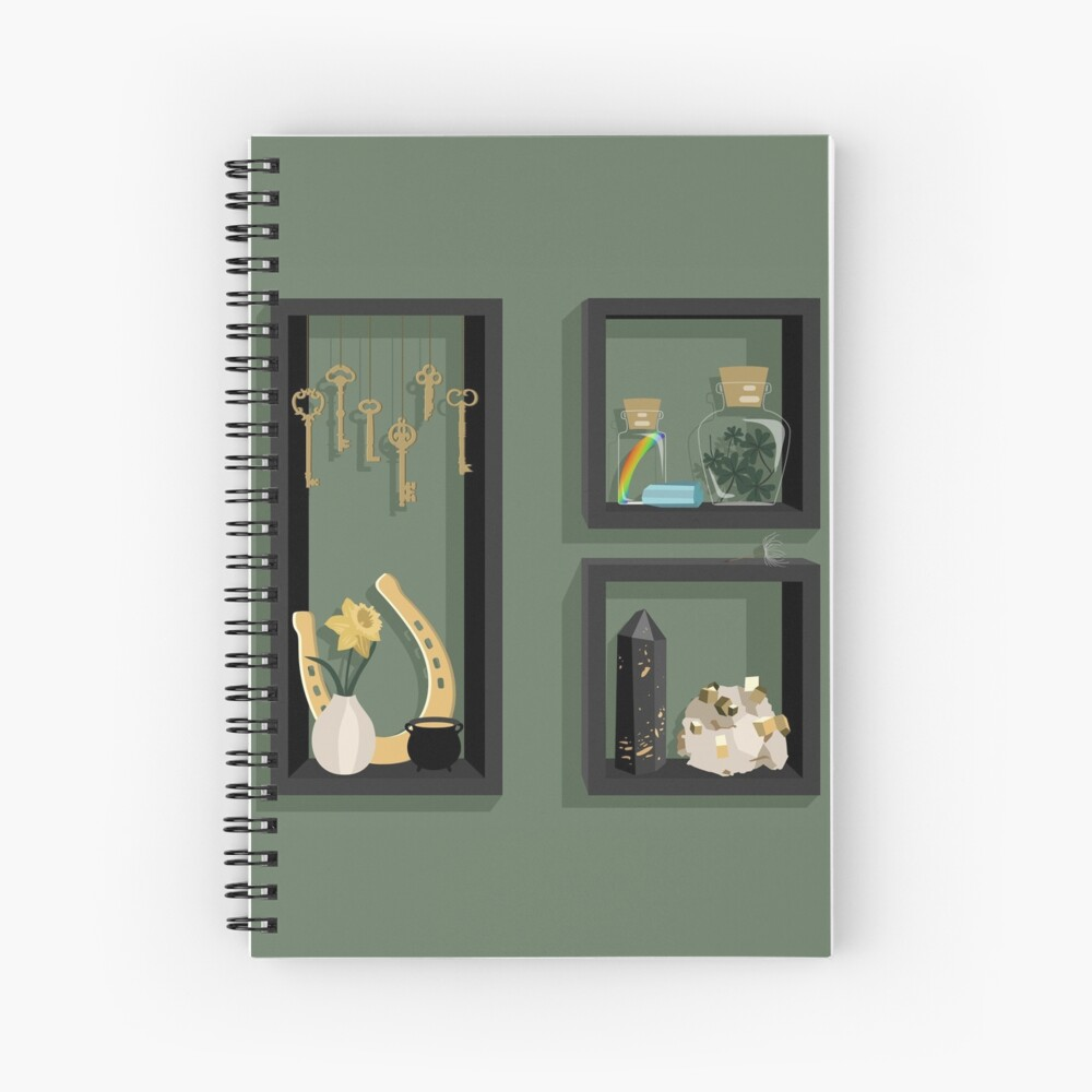 March Collection Spiral Notebook