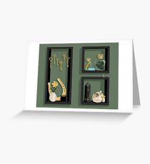 March Collection Greeting Card