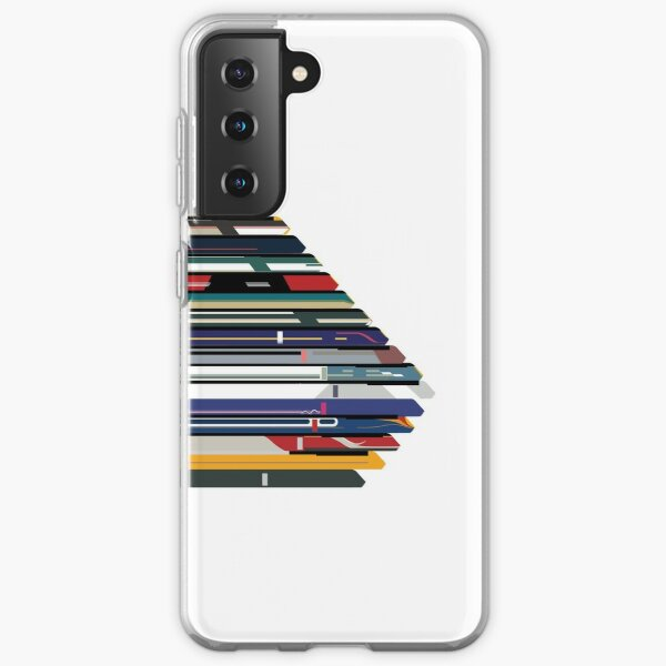 Intercity 125 outline in liveries  Samsung Galaxy Soft Case