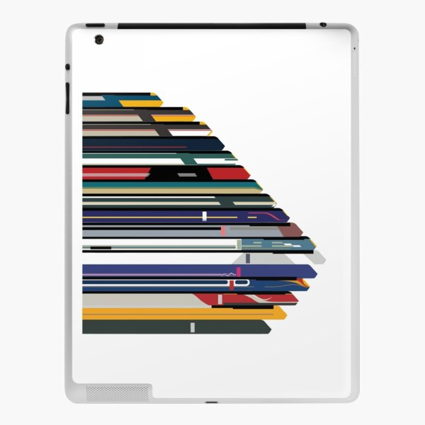 Intercity 125 outline in liveries  iPad Skin