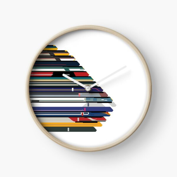 Intercity 125 outline in liveries  Clock