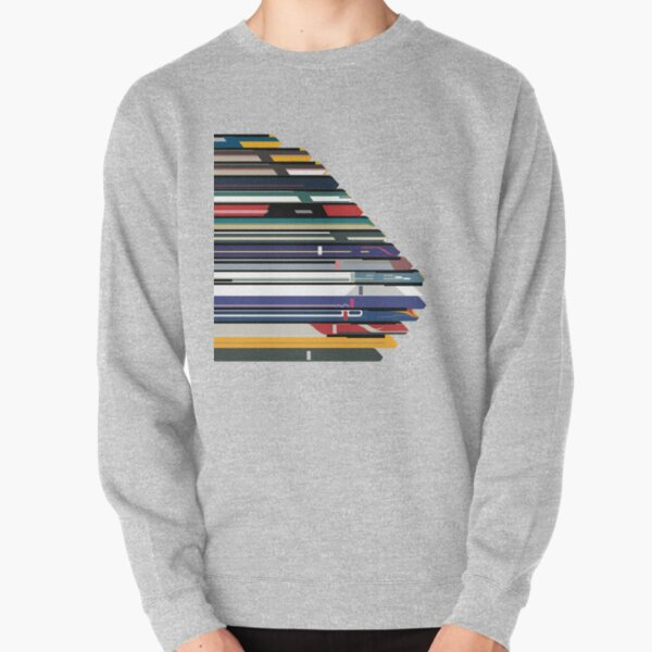 Intercity 125 outline in liveries  Pullover Sweatshirt