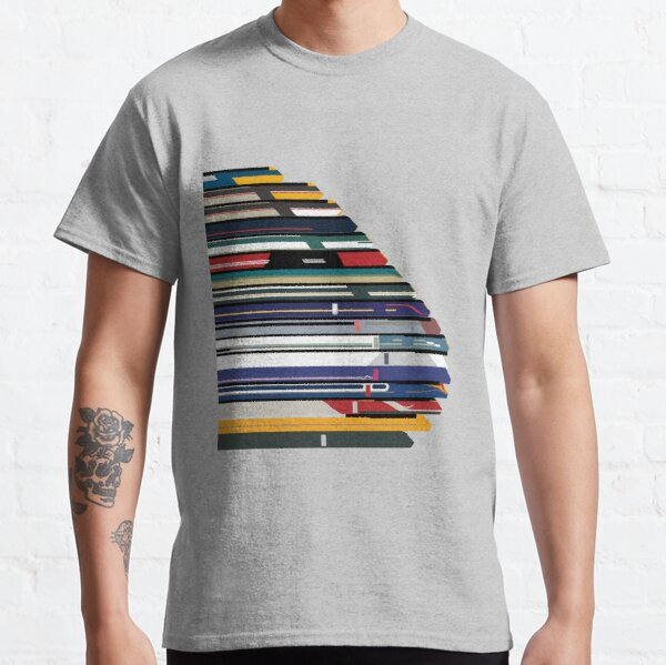 Intercity 125 outline in liveries  Classic T-Shirt