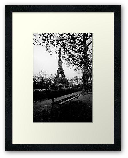 About the Eiffel Tower by Aleksandar Topalovic
