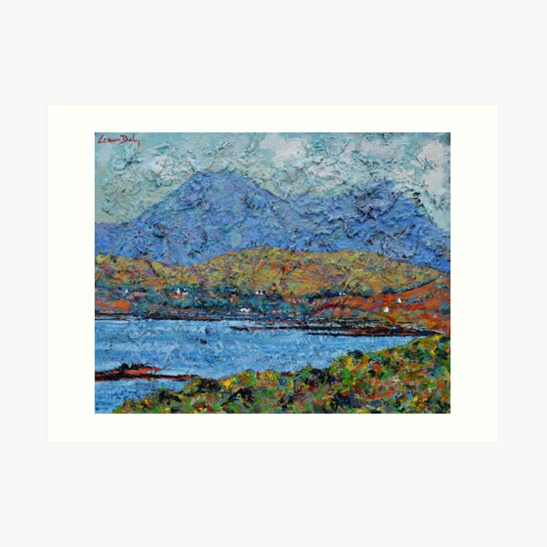 Bertraghboy Bay 5 (County Galway, Ireland) Art Print