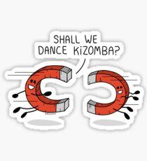 ¿Bailamos kizomba? Pegatina