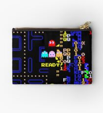 Retro Arcade Split Screen Studio Pouch
