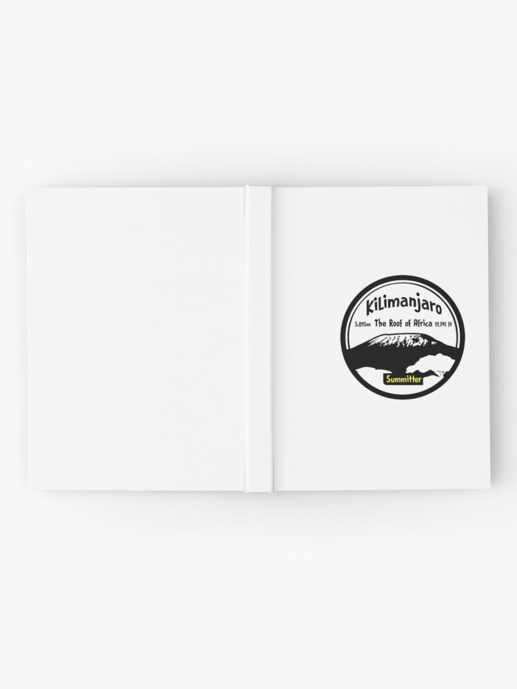 Alternate view of Kilimanjaro Summitter - The Roof of Africa Hardcover Journal