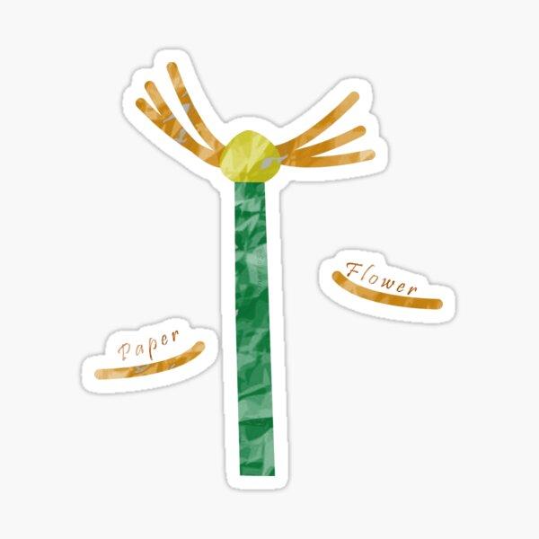 Paper Flower Sticker