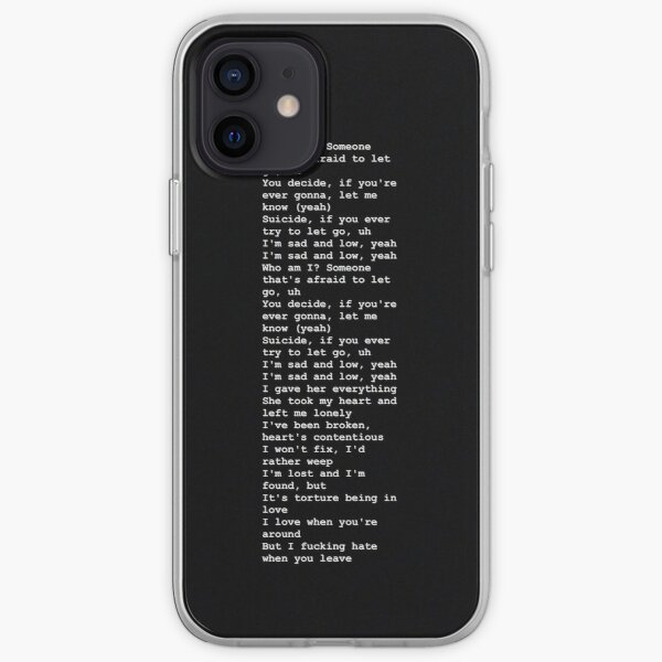 xxxtentacion Coque souple iPhone