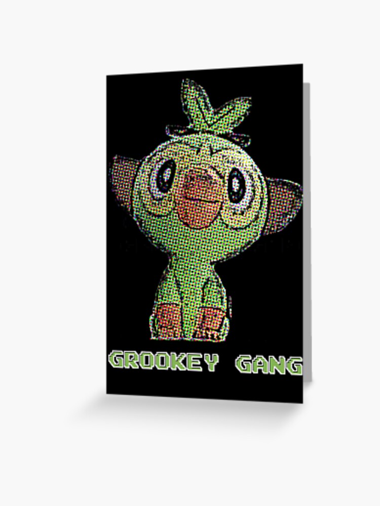Grookey Gang Greeting Card By Capslockprime Redbubble Copy facebookpinteresttwitteremail {{ shortrepliescount }}. grookey gang greeting card by capslockprime redbubble
