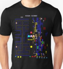 Retro Arcade Split Screen Slim Fit T-Shirt