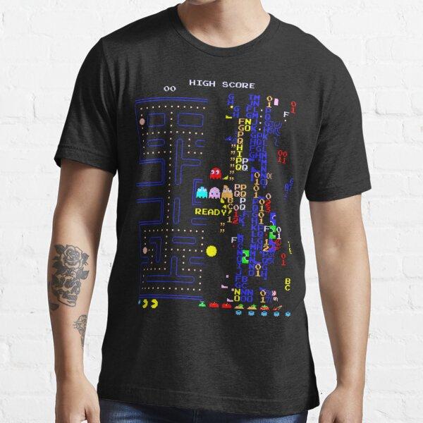 Retro Arcade Split Screen Essential T-Shirt