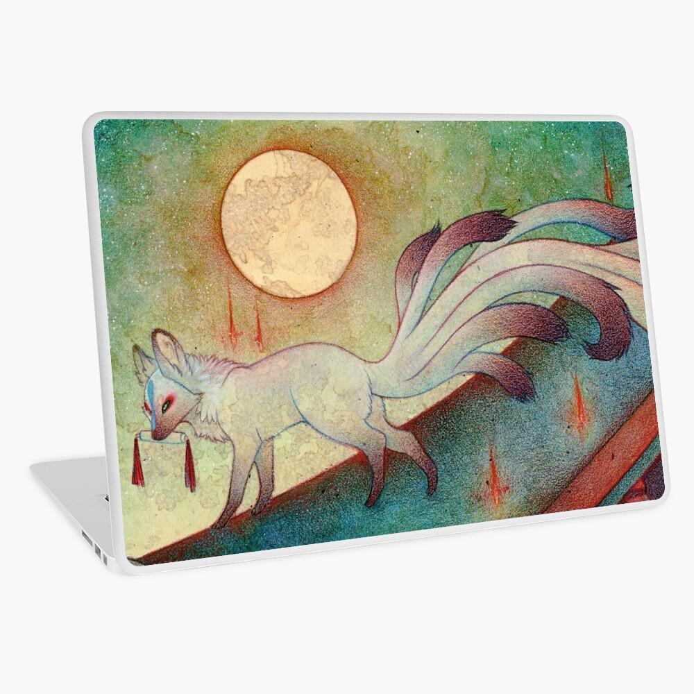 The Messenger - Kitsune, Fox, Yokai Laptop Skin