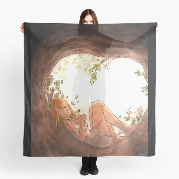 In the hollow of me, the refuge Scarf