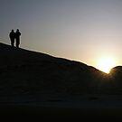 desert sunrise by dogbreath