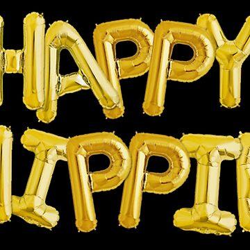 Glückliche Hippie-Stiftung [Ballons] von ZVCHWILLIAMS